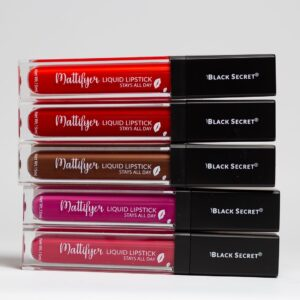 Black Secret Mattifyer Matte Lipstick